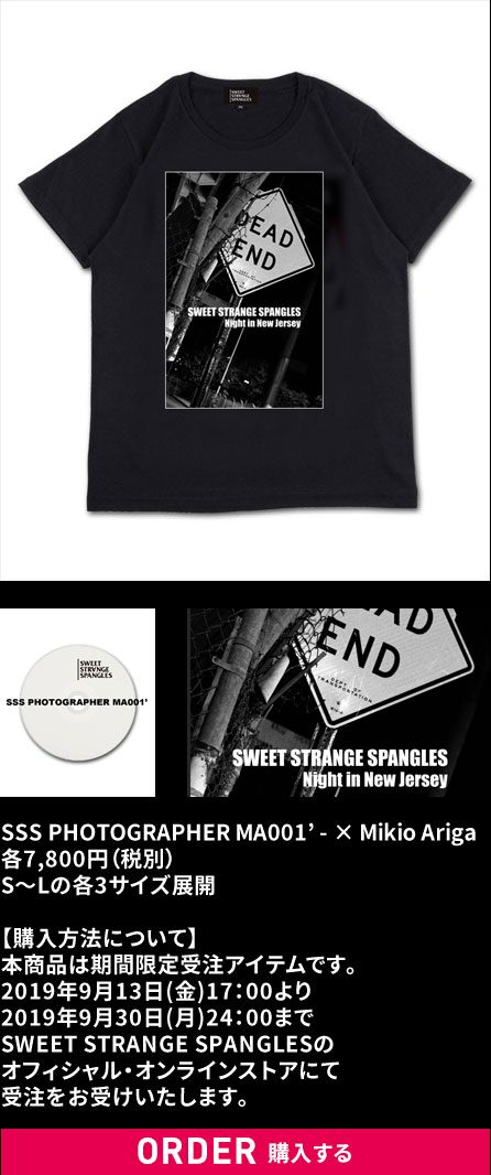 SSS PHOTOGRAPHER MA001' - × Mikio Ariga購入する
